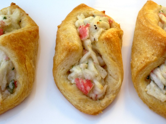 Crab Salad Crescents | Pinky's Pantry