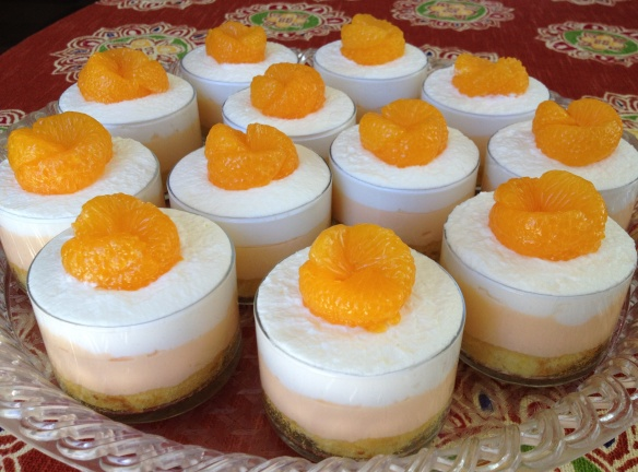 Mini Mandarin Orange Trifles | Pinky's Pantry