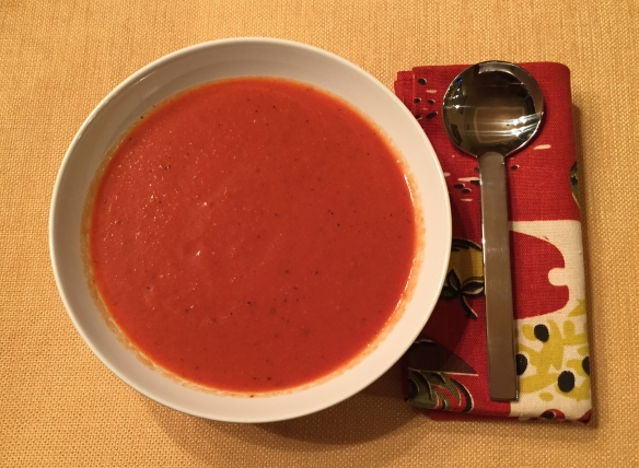 Red Pepper Soup | Pinky's Pantry