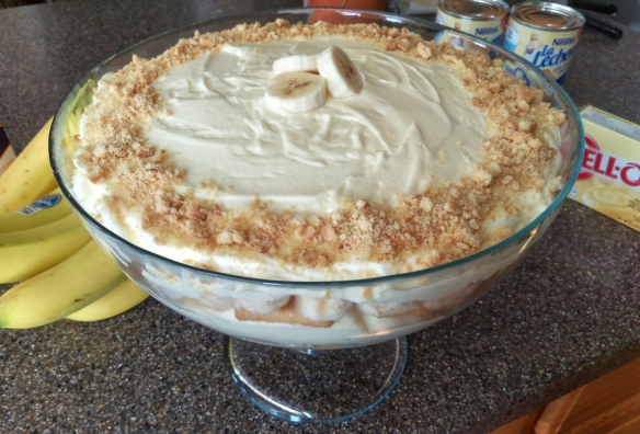 Banana Cream Pudding | Pinky's Pantry