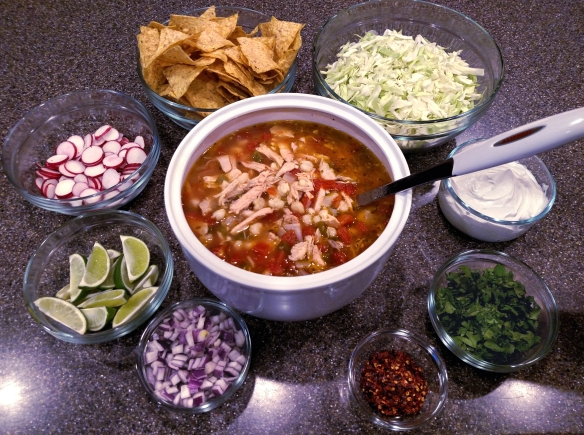 Chicken Pozole | Pinky's Pantry